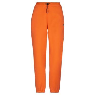 エムエスジーエム MSGM パンツ オレンジ 40 レーヨン 68% / ポリエステル 18% / ポリウレタン 14% パンツ