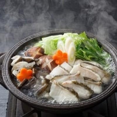 高級クエ刺身と鍋セット