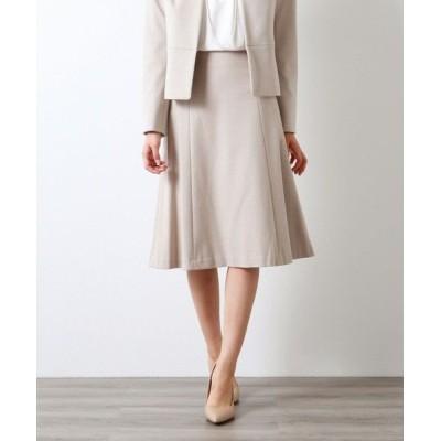 AMACA/アマカ 【XSサイズ〜】【LADY SKIRT】メランジポンチ スカート ベージュ1 38