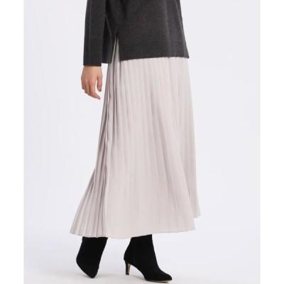 7-IDconcept / セブンアイディーコンセプト ロングプリーツスカート