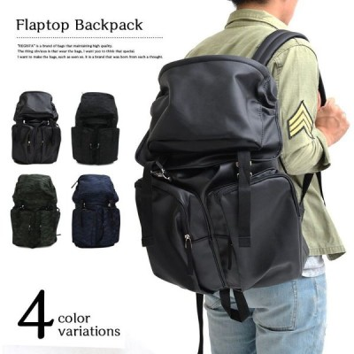REGISTA 流行のバックパック Flaptop Backpack リュックサック/デイバッグ 4カラー