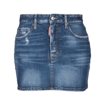 ディースクエアード DSQUARED2 デニムスカート ブルー 40 コットン 99% / ポリウレタン 1% デニムスカート