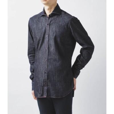 バルバ/BARBA シャツ メンズ DANDYLIFE コットンシャツ LRU136-6088