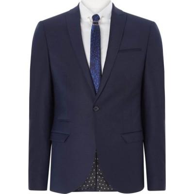レーベルラボ Label Lab メンズ スーツ・ジャケット アウター Rutherford Peak Lapel Skinny Suit Jacket Dark Navy
