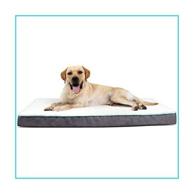 EDUJIN Orthopedic Dog Bed for Small, Medium, Large Dogs, Foam Pet Bed Mattress with Removable Washable Cover, Dogs and Cats Up to 50/75/100