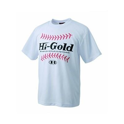 Hi-GOLD(ハイゴールド) オリジナルTシャツ HT-1802 ホワイト M