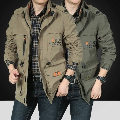 ミリタリージャケット メンズ マウンテンジャケット ウインドブレーカー ジャンパー ブルゾン おしゃれ 大きいサイズ