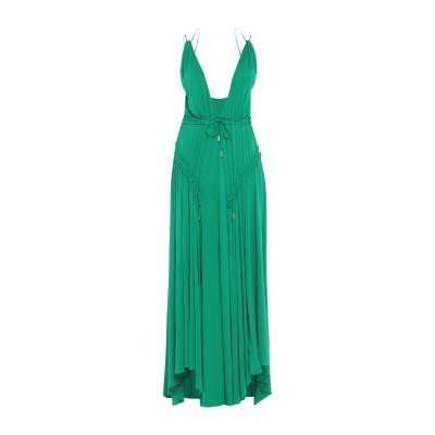 ディースクエアード DSQUARED2 ロングワンピース&ドレス グリーン XS レーヨン 92% / ポリウレタン 8% ロングワンピース&ドレス