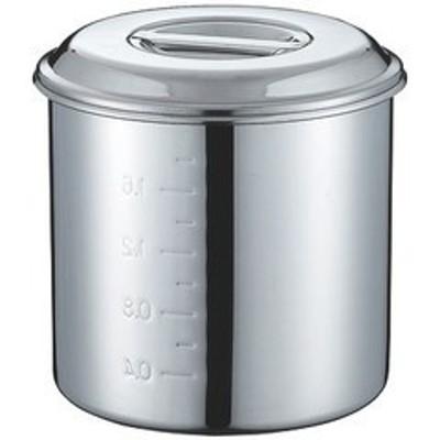 CLOモリブデンキッチンポット目盛付14cm(2.1L)手無 CD:015047-03