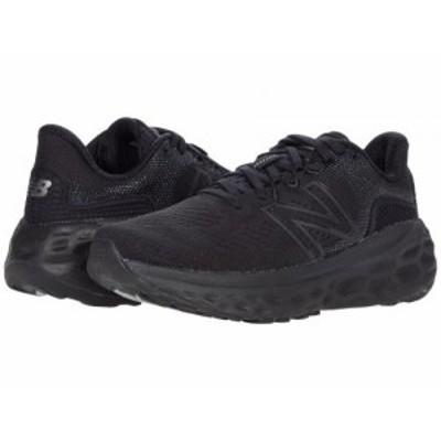 New Balance ニューバランス レディース 女性用 シューズ 靴 スニーカー 運動靴 Fresh Foam More v3 Black/Black【送料無料】