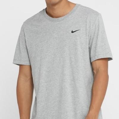 ナイキ メンズ スポーツ用品 TEE CREW SOLID - Basic T-shirt - dk grey heather