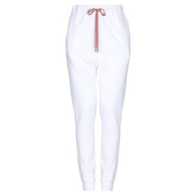 BRAND UNIQUE パンツ ホワイト 0 コットン 100% パンツ