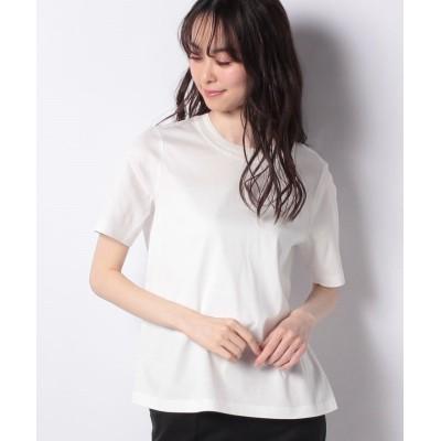 【レリアン】 半そでTシャツ レディース オフホワイト 11 Leilian
