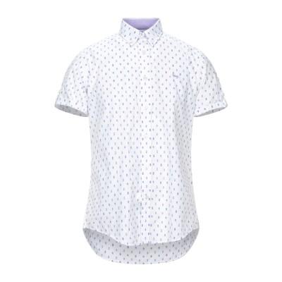 HARMONT&BLAINE シャツ ホワイト S コットン 100% シャツ