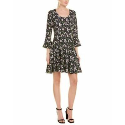 ファッション ドレス Anna Sui Floating Flowers A-Line Dress