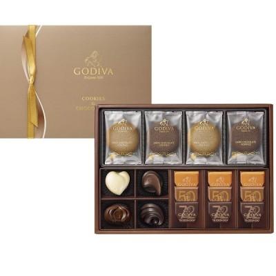 【GODIVA】クッキー&チョコレート アソートメント(クッキー8枚 チョコレート13粒)