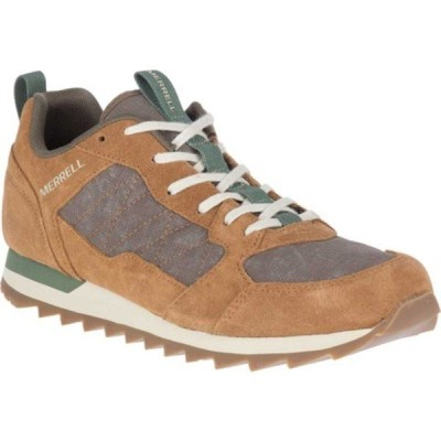 メレル スニーカー シューズ メンズ Alpine Sneaker (Men's) Tobacco Nylon/Leather