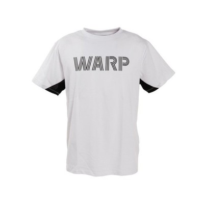 ザ・ワープ・バイ・エネーレ(The Warp By Ennerre) Tシャツ メンズ 半袖クルーネック Warp Graphic WB33JA11 WHT (メンズ)