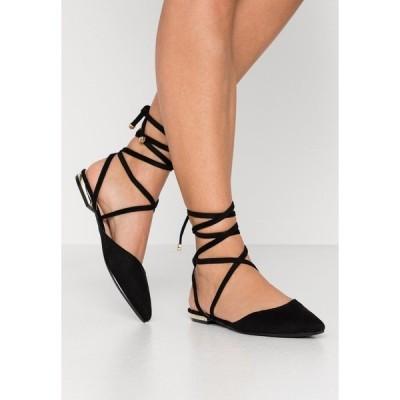 ベボ パンプス レディース シューズ RUBIE - Ankle strap ballet pumps - black