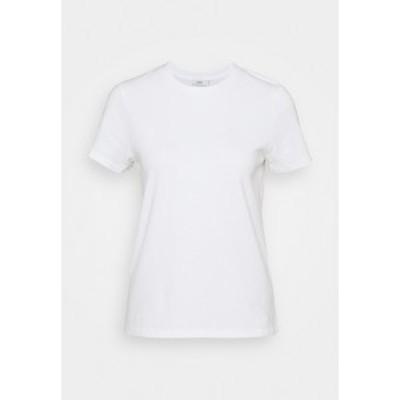 クローズド レディース Tシャツ トップス Basic T-shirt - ivory ivory