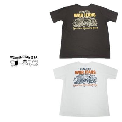 ステュディオ・ダ・ルチザン STUDIO D'ARTISAN メンズ 神魔大戦 半袖Tシャツ WAR004