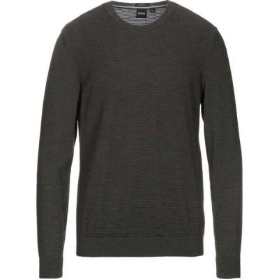 ヒューゴ ボス BOSS HUGO BOSS メンズ ニット・セーター トップス sweater Dark green