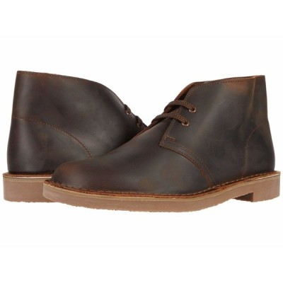 クラークス ブーツ&レインブーツ シューズ メンズ Bushacre 3 Dark Brown Leather