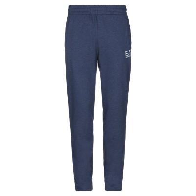 EA7 パンツ ブルー XXL コットン 100% パンツ