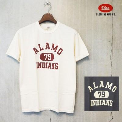 UES(ウエス)ALAMO INDIANS Tシャツ [652106]