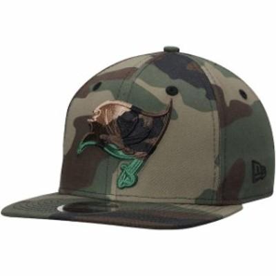 New Era ニュー エラ 帽子 キャップ New Era Tampa Bay Buccaneers Tonal Woodland Camo Capped 9FIFTY Adjustable Hat