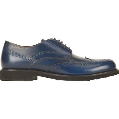 トッズ TOD'S メンズ シューズ・靴 laced shoes Dark blue