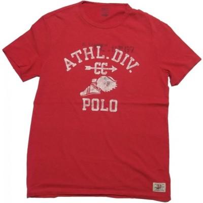 ポロ ラルフローレン 半袖 プリント Tシャツ レッド メンズ Polo Ralph Lauren 881