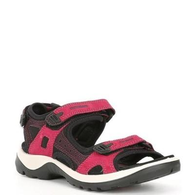 エコー レディース サンダル シューズ Yucatan Adjustable Strap Leather Sandals