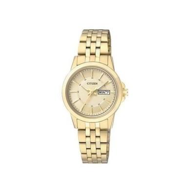 【送料無料】シチズン CITIZEN クオーツ レディース腕時計 EQ0603-59P