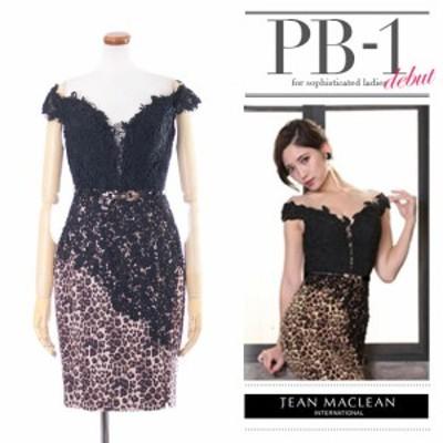 JEANMACLEAN ドレス ジャンマクレーン キャバドレス ナイトドレス ワンピース jean maclean ブラック 黒 7号 S 9号 M 95375-1 クラブ ス