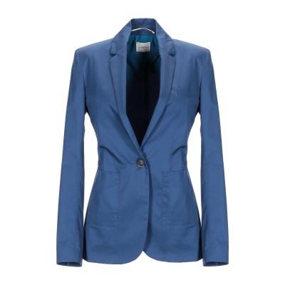 メルシー ..,MERCI テーラードジャケット ブルーグレー 40 コットン 97% / ポリウレタン 3% テーラードジャケット