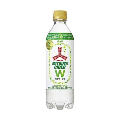 [トクホ]アサヒ飲料 三ツ矢サイダーW 485ml×24本入×2ケース 48本