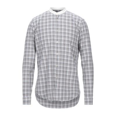 948 ARCHIVIO シャツ ライトグレー L コットン 100% シャツ