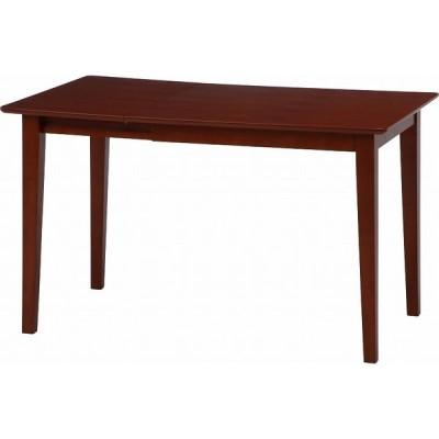 ダイニングテーブル 北欧調エクステンションダイニングテーブル/伸長式テーブル 木製テーブル おしゃれ  代引不可