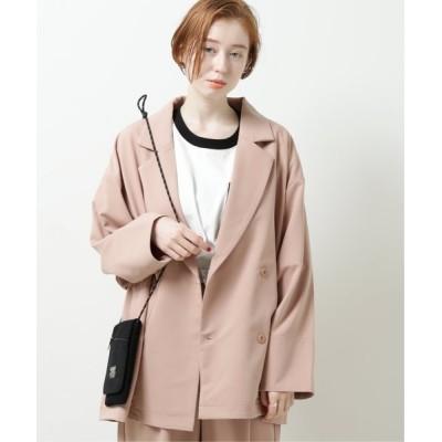 DOUBLE NAME / ゆるジャケット WOMEN ジャケット/アウター > テーラードジャケット