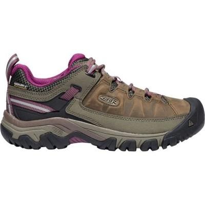 キーン レディース スニーカー シューズ Targhee III Waterproof Hiking Shoe