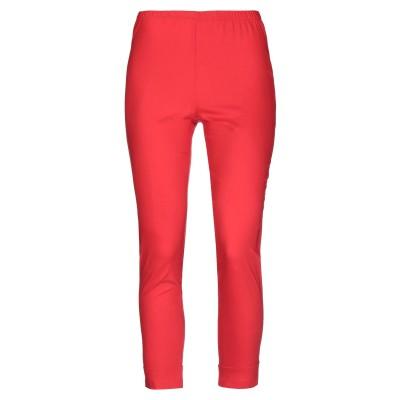 CORINNA CAON パンツ レッド M レーヨン 66% / ナイロン 31% / 指定外繊維(その他伸縮性繊維) 3% パンツ