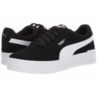 PUMA プーマ レディース 女性用 シューズ 靴 スニーカー 運動靴 Carina Puma Black/Puma Black/Puma Silver【送料無料】