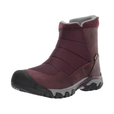 レディース 靴 ブーツ Keen Women's Hoodoo Iii Low Zip Mid Calf Boot Peppercorn/Winetasting Size 7.0
