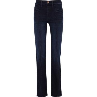 マザー Mother レディース ジーンズ・デニム ボトムス・パンツ The Slant Drama Dark Blue Slim-Leg Jeans Blue