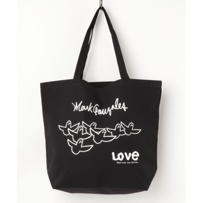 THE MORNING AFTER / [ Mark Gonzales  / マークゴンザレス ] LOVE ANGELSトートバッグ MEN バッグ > トートバッグ