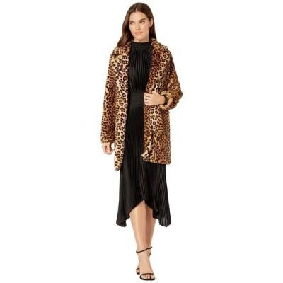 ブランクニューヨーク レディース コート アウター Faux Fur Leopard Coat in Note To Self