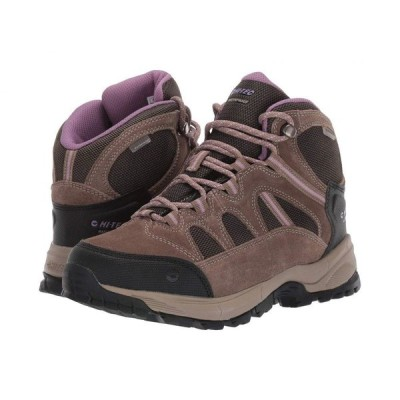 ハイテック Hi-Tec レディース ハイキング・登山 シューズ・靴 Red Rock Mid Waterproof Smokey Brown/Taupe/Very Grape