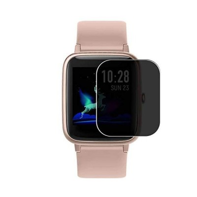 """Puccy Privacy Screen Protector Film, compatible with Vigorun Letsfit Fitpolo ID205L 1.3"""" Smartwatch Smart Watch Anti Spy TPU Guard ( Not T"""