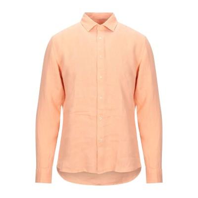 アルテア ALTEA シャツ あんず色 L リネン 100% シャツ